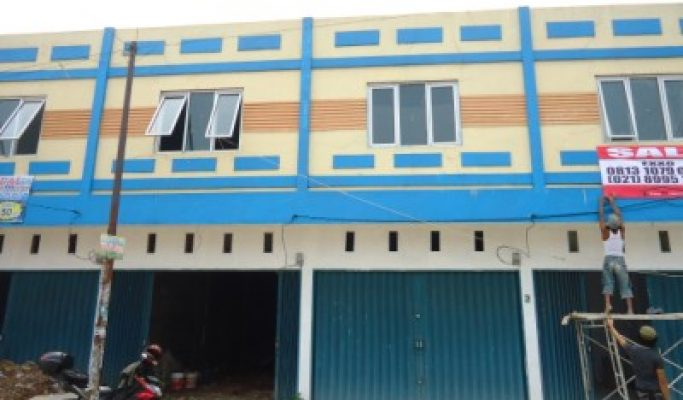 Ruko Dijual Cikarang jln K.H Fudholi Nego KPR Dibantu